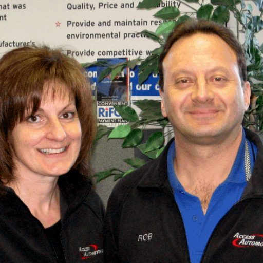 Gina and Rob Access Automotive